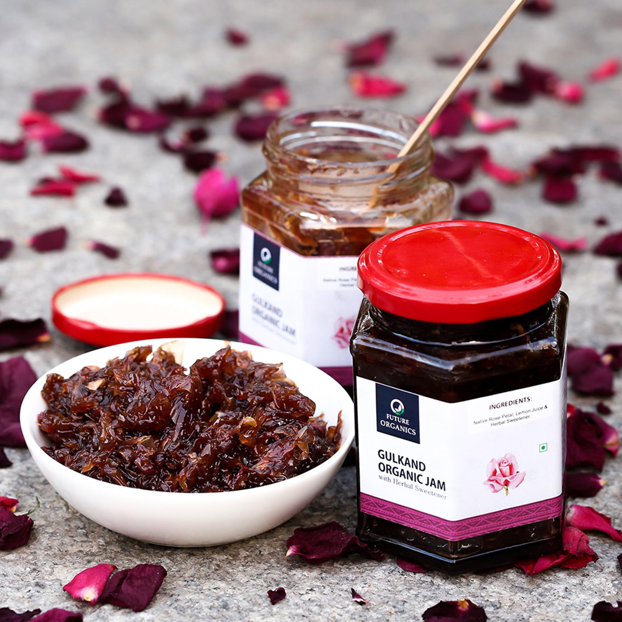 Gulkand with Herbal Sweetener