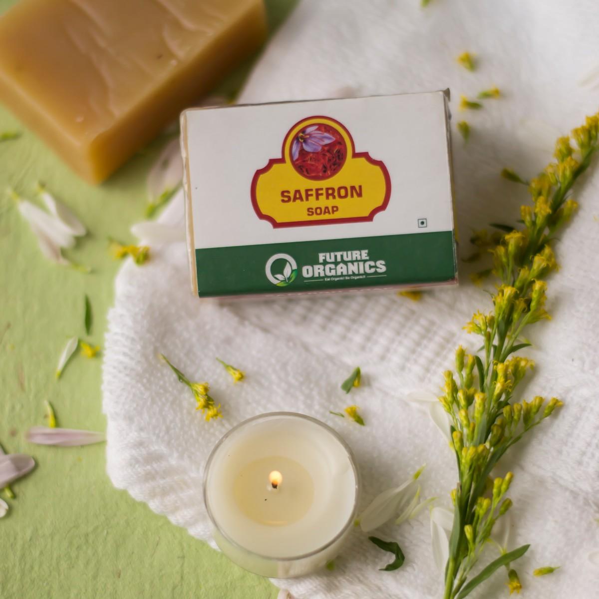 Saffron Soap(set of 2)