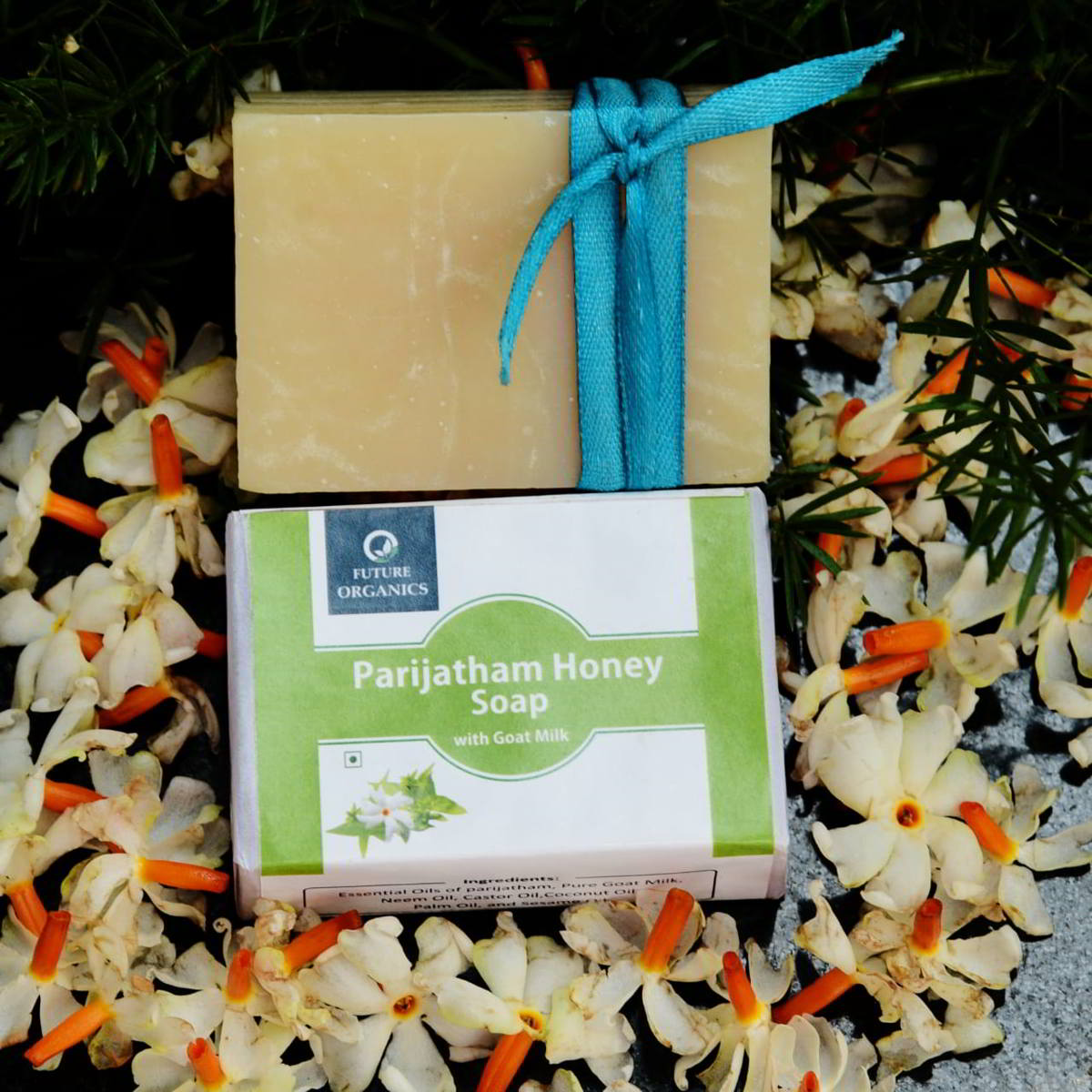 Parijathm soap(with goat Milk)