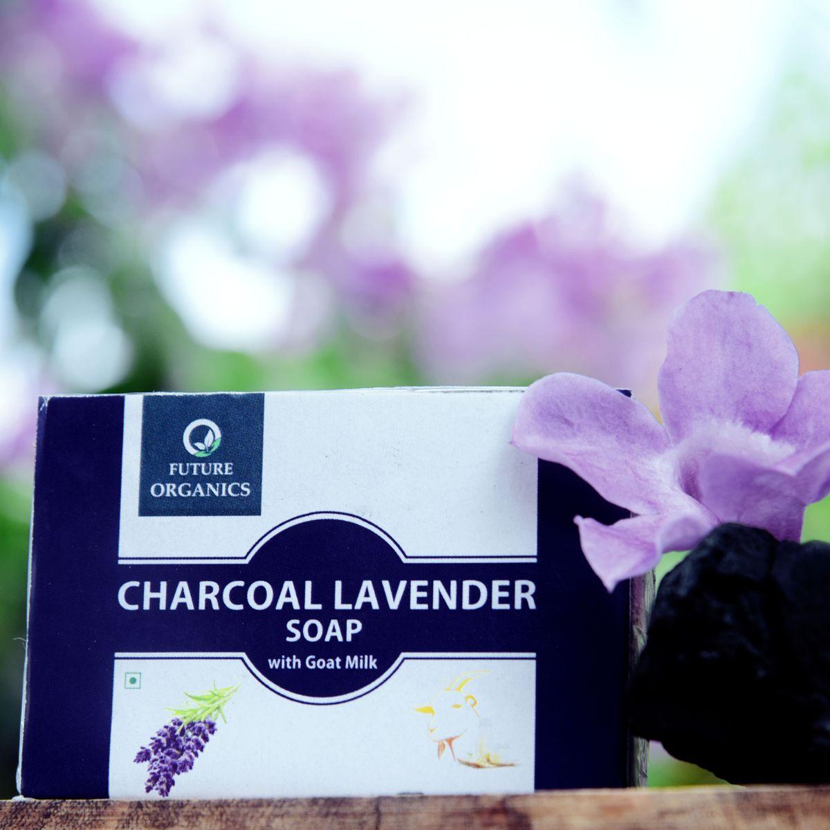 Charcoal Lavender Soap(set of 2)