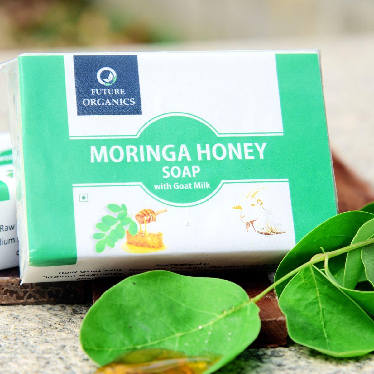 MORINGA HONEY SOAP(set of 2)
