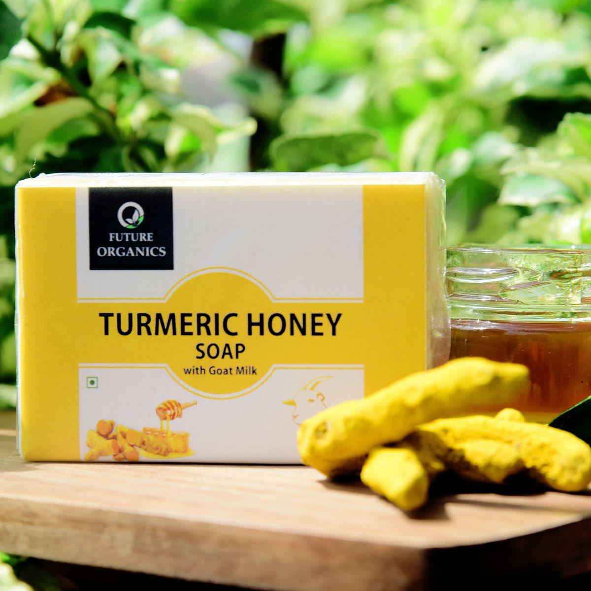 Turmeric Honey Soap(set of 2)